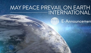 CELEBRATE The International Day of Peace  21 September 2019